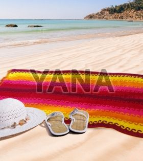 Velour beach towel - B037