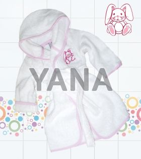 Luxury bathrobes for baby